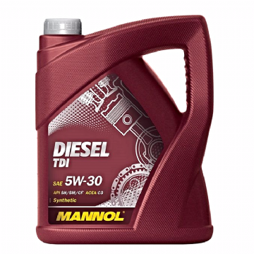 ENGINE OIL MANNOL GERMAN TDI DIESEL OIL 5W30 FULLY SYNTHETIC TDI 5W-30 API SN/CF 5 LITRE